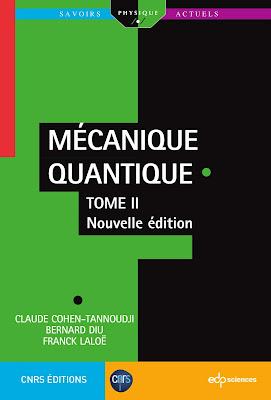 Télécharger Mécanique Quantique 2 Claude Cohen-Tannoudji - Tome 2 PDF gratuit