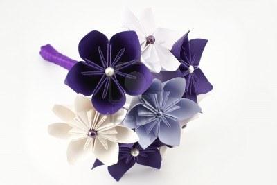 Sponsoriser son mariage et autres venements for Bouquet de fleurs origami