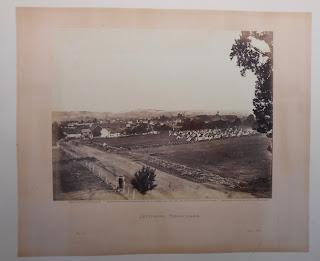 """""""Gettysburg"""" showing the fields around Gettysburg, PA"""