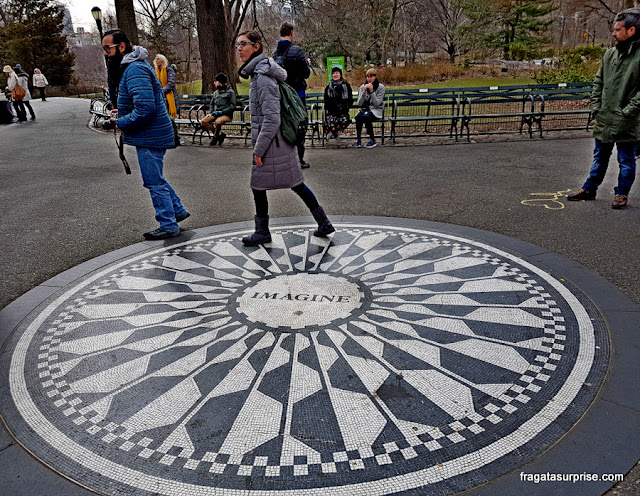 Strawberry Fields, Central Park, Nova York