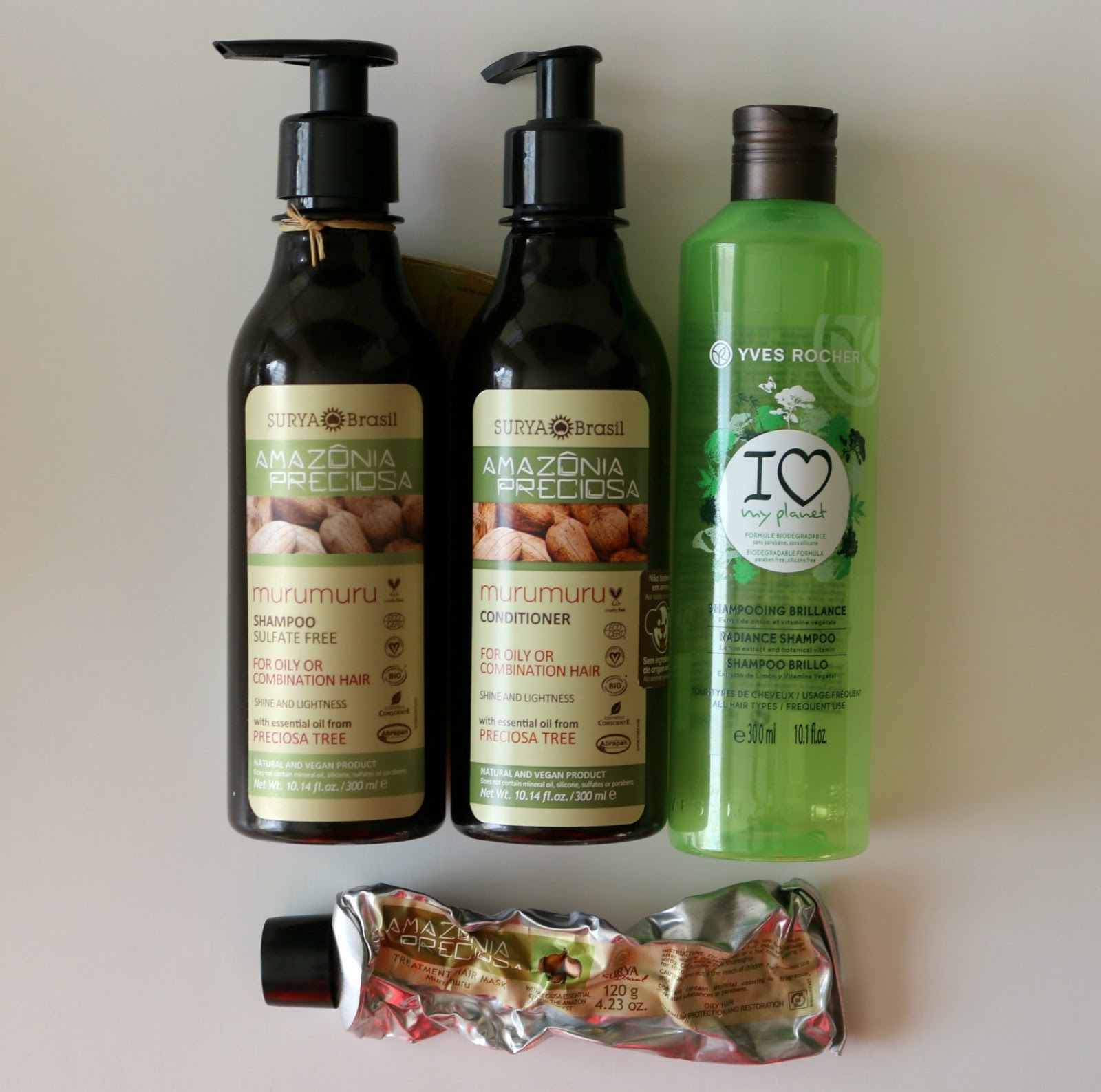 Fall Empties Hair Care