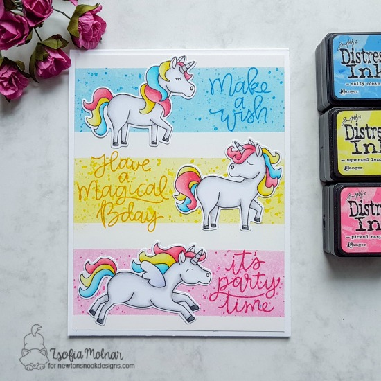 Make a wish by Zsofia features Believe in Unicorns by Newton's Nook Designs; #newtonsnook