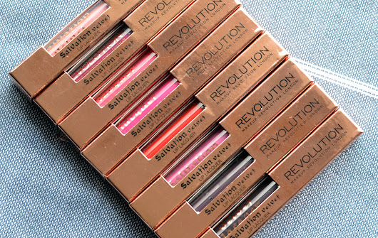 Makeup Revolution Salvation Intense Lip Lacquers