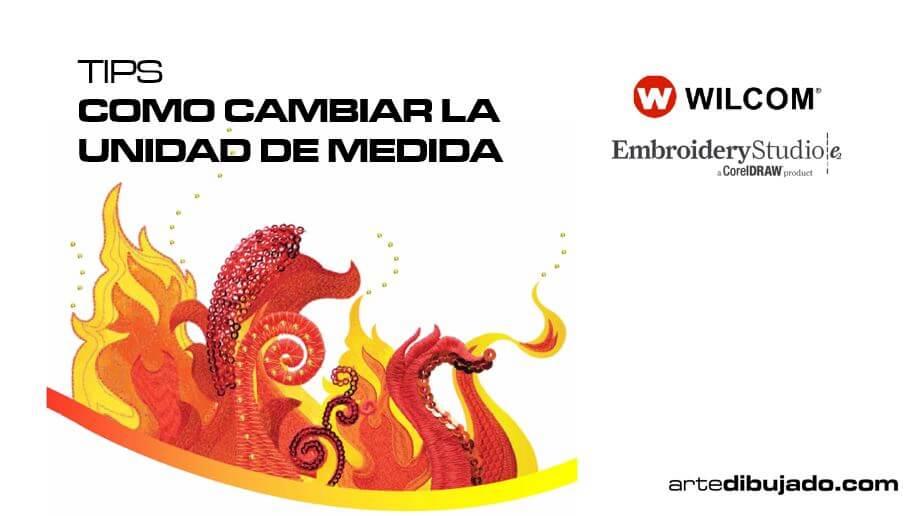 COMO CAMBIAR LA UNIDAD DE MEDIDA DE WILCOM EMBROIDERYSTUDIO