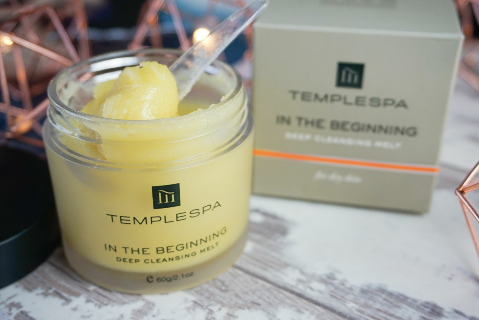 In The Beginning, Deep Cleansing Melt By Temple Spa