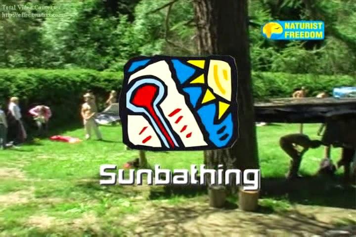 Naturist Freedom. Sunbathing.