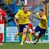 Suécia vence a Suíça e vai às quartas da Copa do Mundo