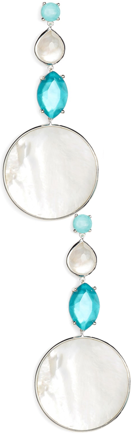 IPPOLITA Multi Shape Stone Drop Earrings
