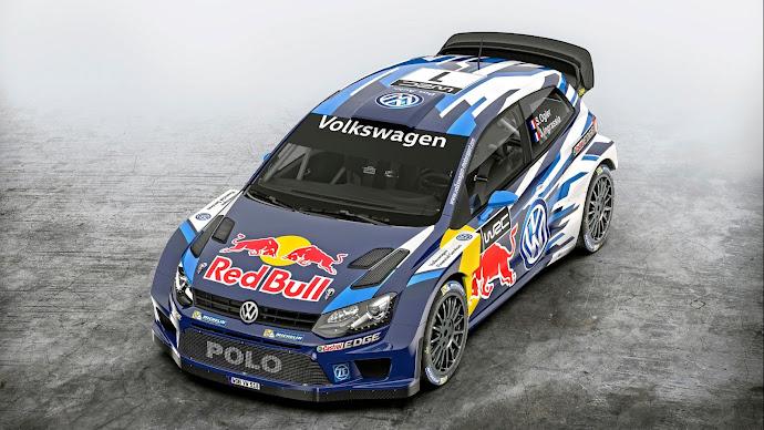 Wallpaper: Volkswagen Polo R WRC 2015