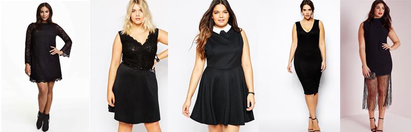La petite robe noire plus size