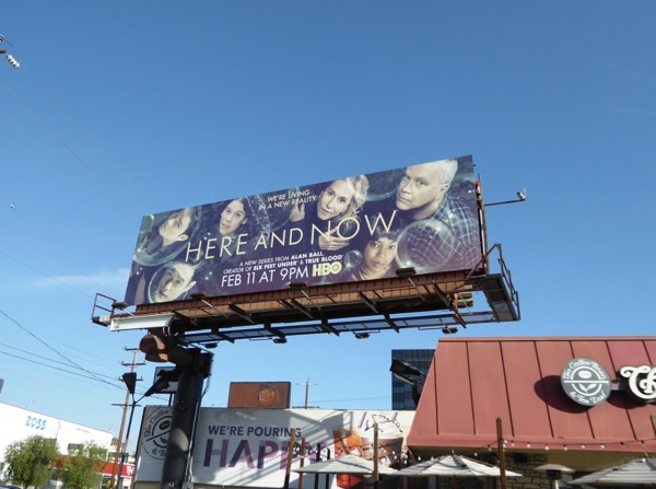 Here and Now series billboard