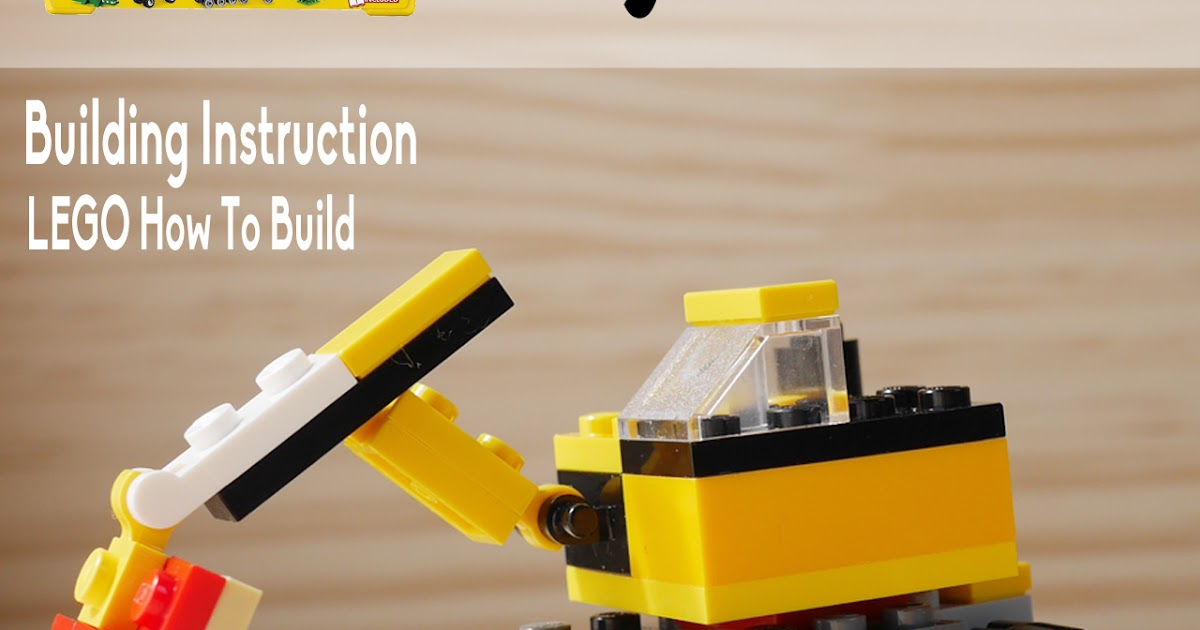 LEGO How to build: How to build LEGO digger, using Classic 10696