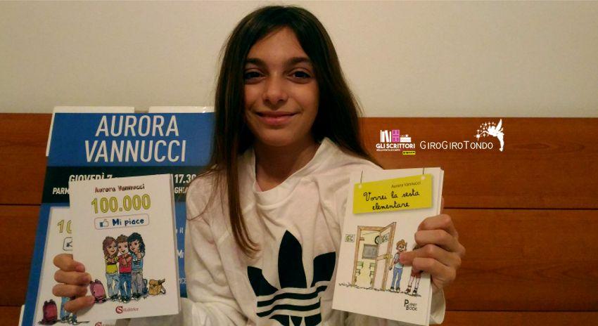 Intervista ad Aurora Vannucci, scrittrice a 12 anni