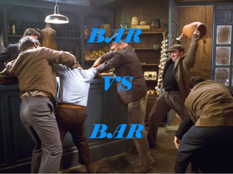 pelea de bares españa competividad