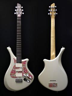 guitarra gris