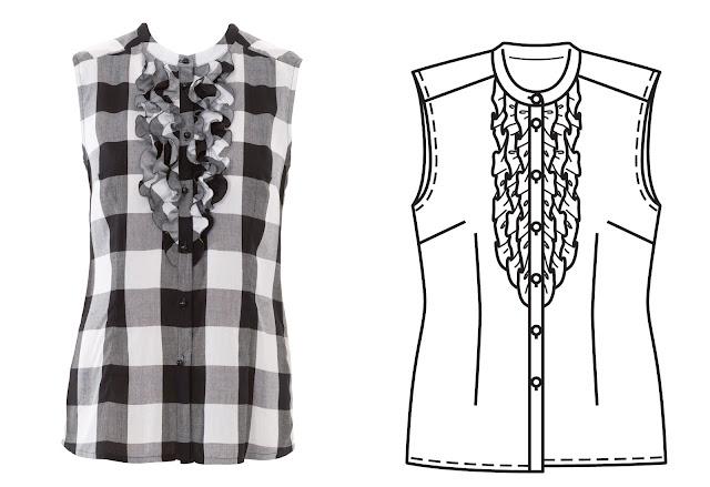 burda dergisi 8/2016 bluz gömlek