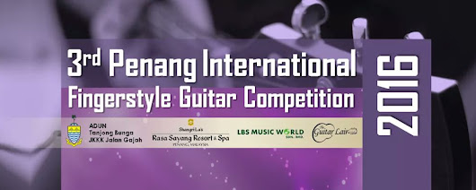 3rd Penang International Fingerstyle Guitar Competition 2016