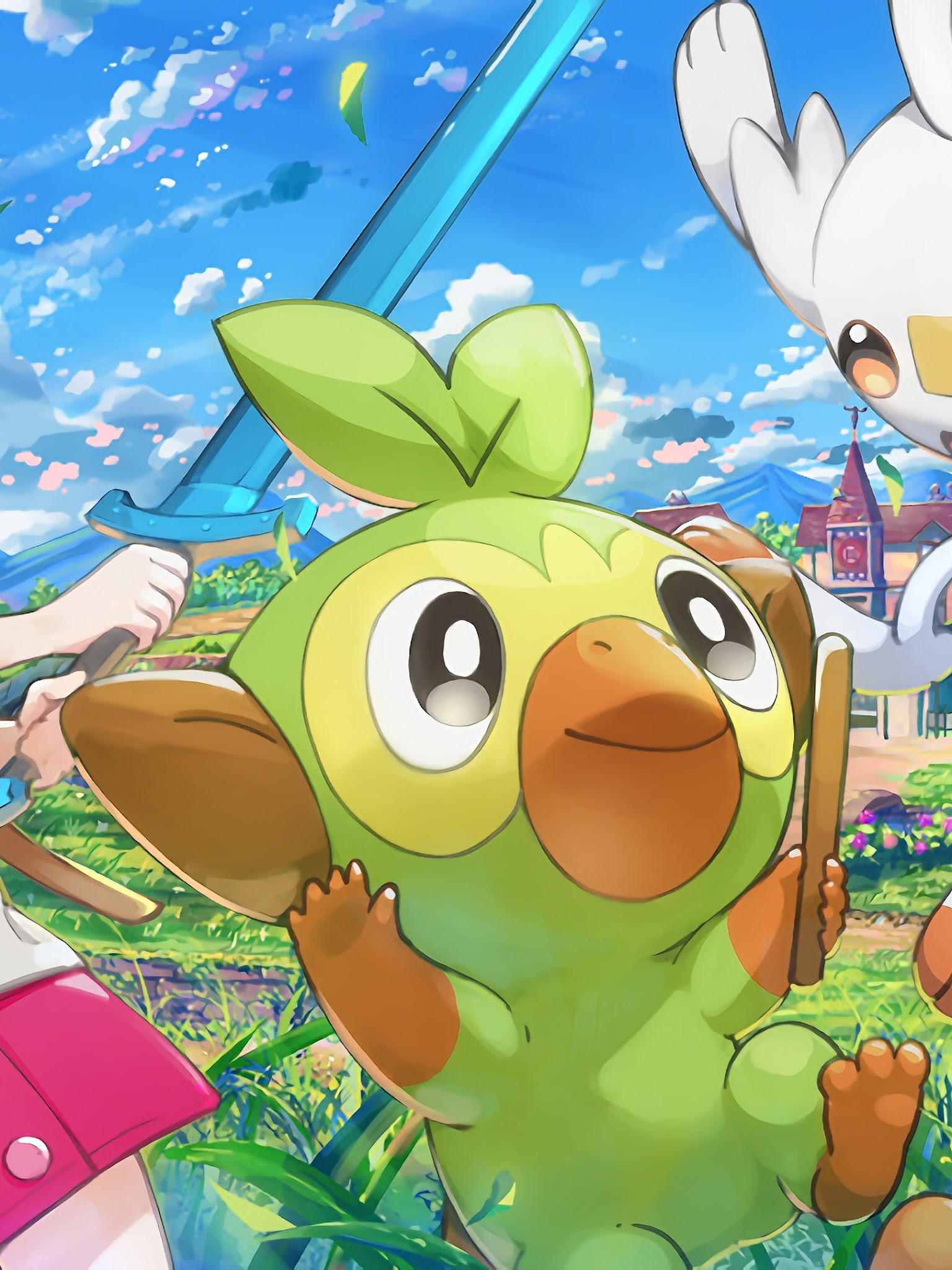 Pokemon Sword And Shield Grookey Sobble Scorbunny Female Pokemon Trainer 4k 48 Wallpaper #pokemon #pokemon sword and shield #grookey #grookey pokemon #pokemon swsh. pokemon sword and shield grookey