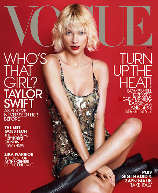 Singer-Songwriter @ Taylor Swift - Vogue Magazine May 2016