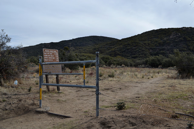 gate and sign for PCT