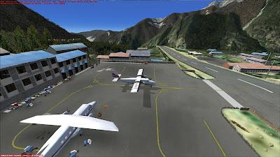 Lukla Tenzing-Hillary Airport on FSX
