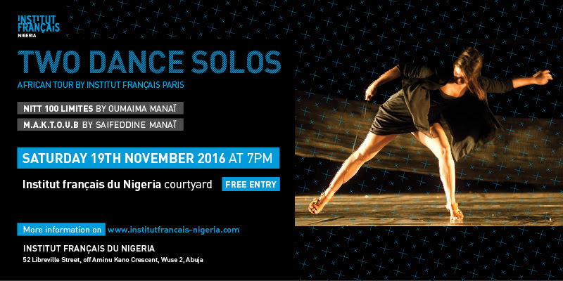 Two Contemporary Dance Solos African Tour by Institut