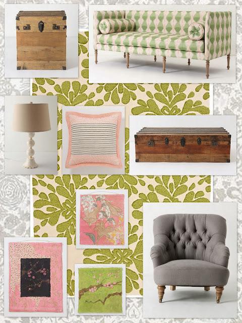 fabulous anthropologie inspired living room | GAFunkyFarmhouse: This 'n That Thursdays: Spring-Inspired ...