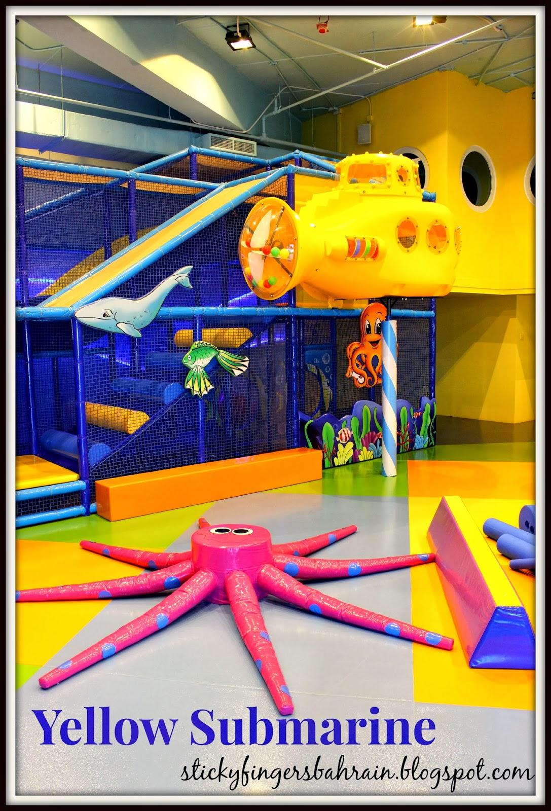 Sticky Fingers Yellow Submarine Fun