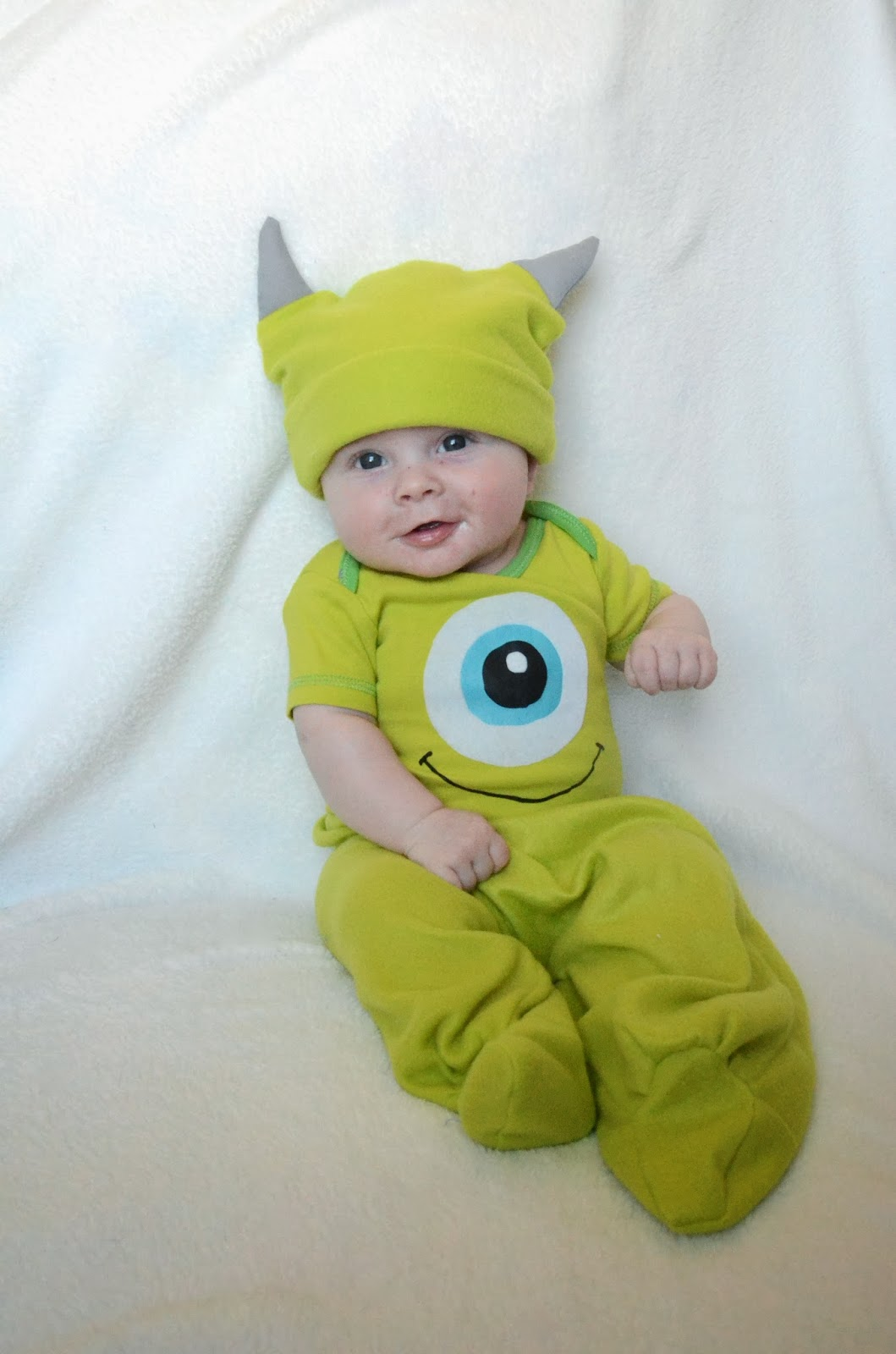 Pitcher Family Adventures Mike Wazowski Costume