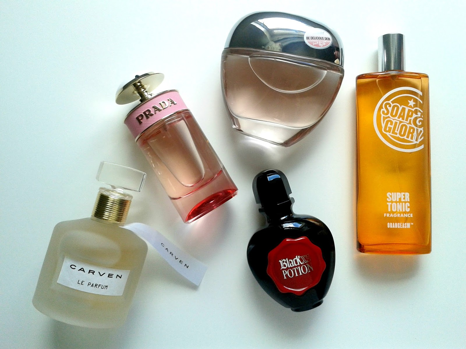 Ellis Tuesday's Summer Sun-days: Fragrances Beauty Review Carven Paco Rabanne Prada Soap & Glory DKNY