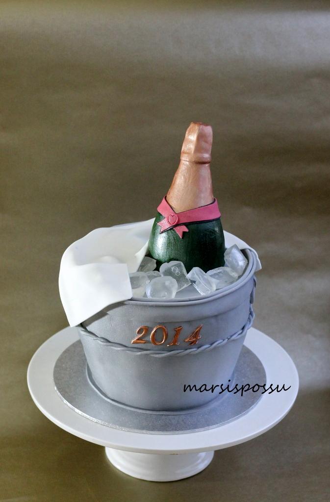 uuden vuoden kakku