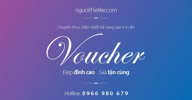 Chuyên thiết kế sáng tạo các loại voucher đẹp và in giá tận xưởng hỗ trợ tối đa khách hàng