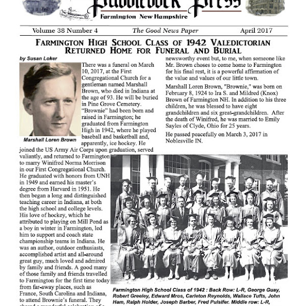 The April Edition of the Puddledock is Available Online an in Town