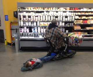 Meanwhile at Walmart Parenting a Drag