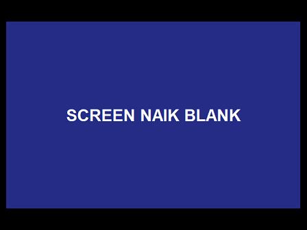 TV Cina Gambar Gelap Ketika Screen Dinaikan Jadi Blank