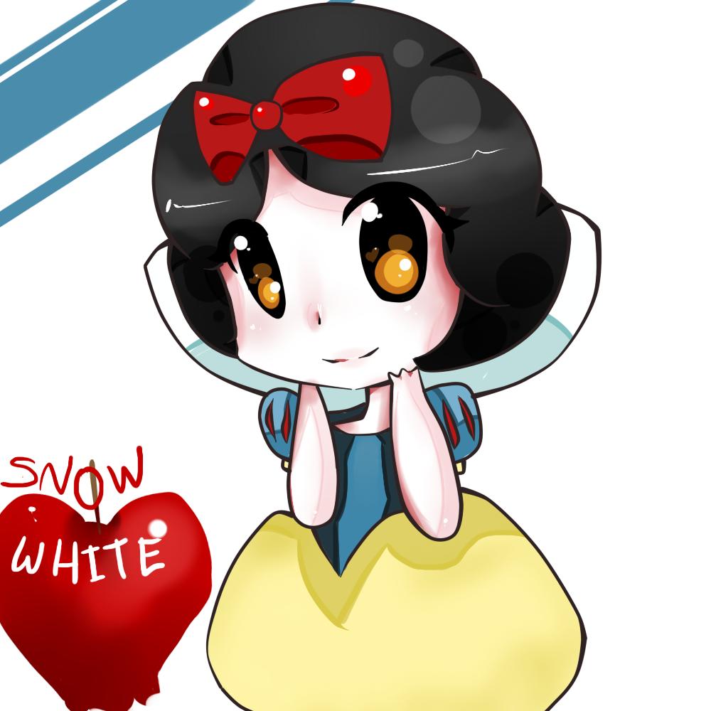 Snow White chibi công chúa Nàng bạch tuyết