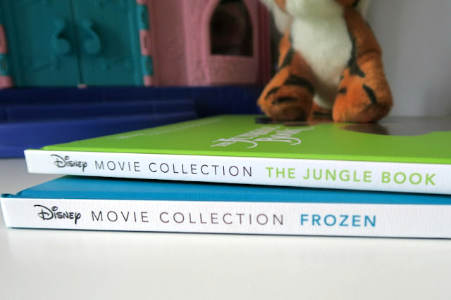 Disney Movie Collection Books Frozen The Jungle Book