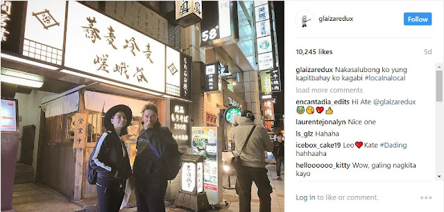 SHOWBIZ ►You Won't Believe Who's with Glaiza De Castro Ran Into During Her Vacation to Japan!