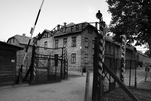 entrée d'Auschwitz I