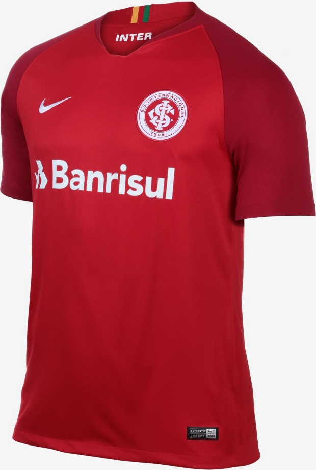 cf3f7d7123 Nike lança a nova camisa titular do Internacional - Show de Camisas