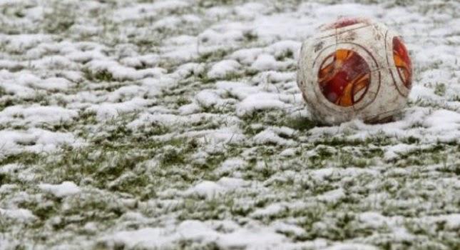Αναβλήθηκε το παιχνίδι λόγω χιονόπτωσης