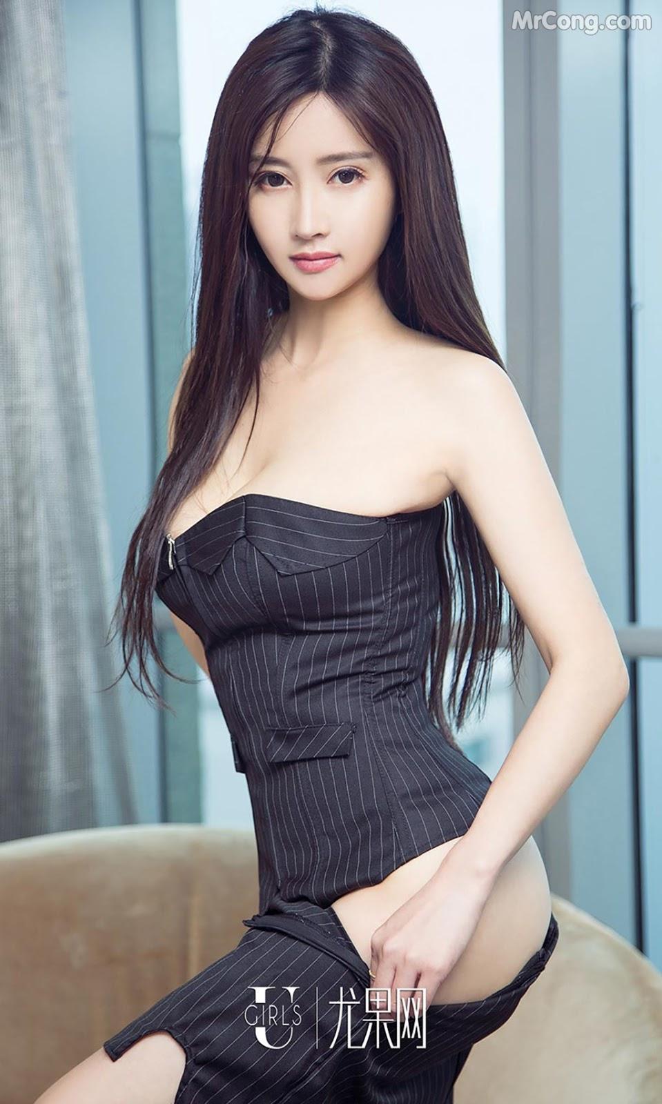 Image UGIRLS-Ai-You-Wu-App-No.790-MrCong.com-010 in post UGIRLS – Ai You Wu App No.790: Người mẫu Han Yu Chan (韩雨婵) (40 ảnh)