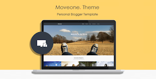 Move One Blogger Template