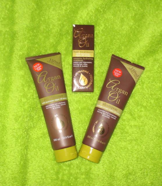 vlasová kosmetika s arganovým olejem
