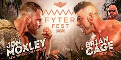 AEW Fyter Fest Night 1 Results - July 1, 2020