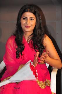 Actress Raj Shri Poonnappa Stills in Pink Dress at Mental Police Trailer Launch BollywoodGossip 0002.JPG