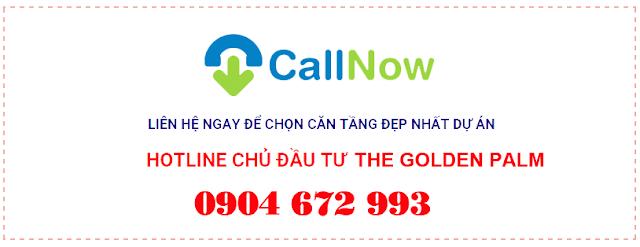 Hotline Chủ đầu tư The Golden Palm