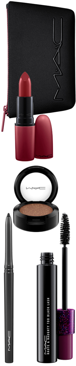 Beauty Exclusives M·A·C 'Look in a Box Sassy Siren' Burgundy Lip & Eye Kit