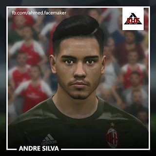 PES 2017 Faces Andre Silva by Ben Hossam FaceMaker