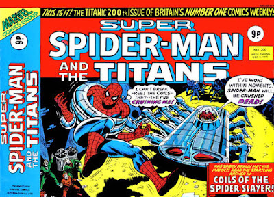 Super Spider-Man and the Titans #200, Spider-Slayer